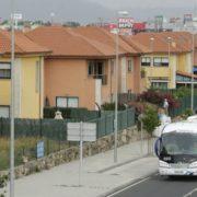 Foto:César Toimil. Imagen parcial de la urbanización Ciudad Jardín, en la zona de O Boial.