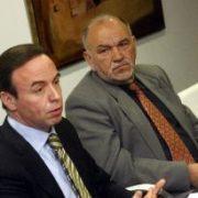 D.Ricardo Pérez Lama y D. Manuel Bouza Dopico. Jorge Meis