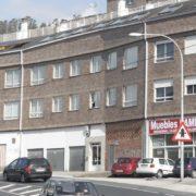 Fachada principal del edificio. Diario de Ferrol