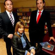 Ricardo Pérez Lama, Ana Pérez-Lago y Federico Pérez-Lago