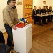 Federico Pérez presentó el patrocinio de Gadis en Sargadelos