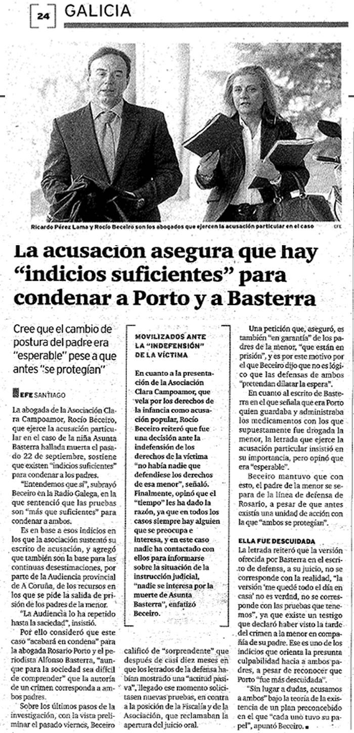 Noticia Caso Asunta