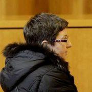 María del Mar Longueira durante el juicio. Paco Rodríguez. La Voz de Galicia.