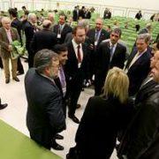 Ricardo Pérez Lama en la jornada Puerto-Empresa que reunió a 200 empresarios en el auditorio de FIMO.