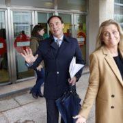 Los abogados Ricardo Pérez Lama y Rocío Beceiro. Sandra Alonso